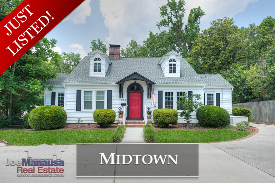 Just Listed - Home For Sale In Midtown Tallahassee, Florida
