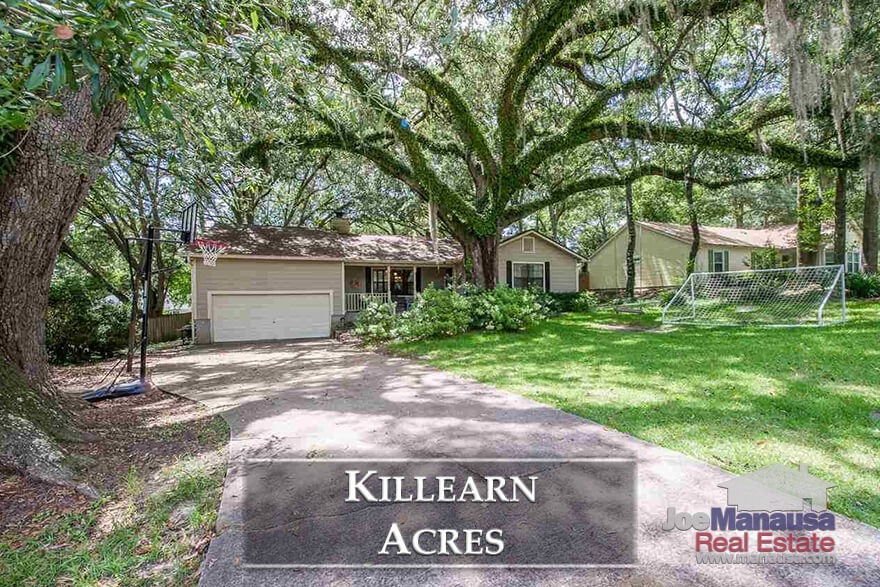 Killearn Acres is a sizzling hot neighborhood in NE Tallahassee where homes are selling as fast as they hit the market