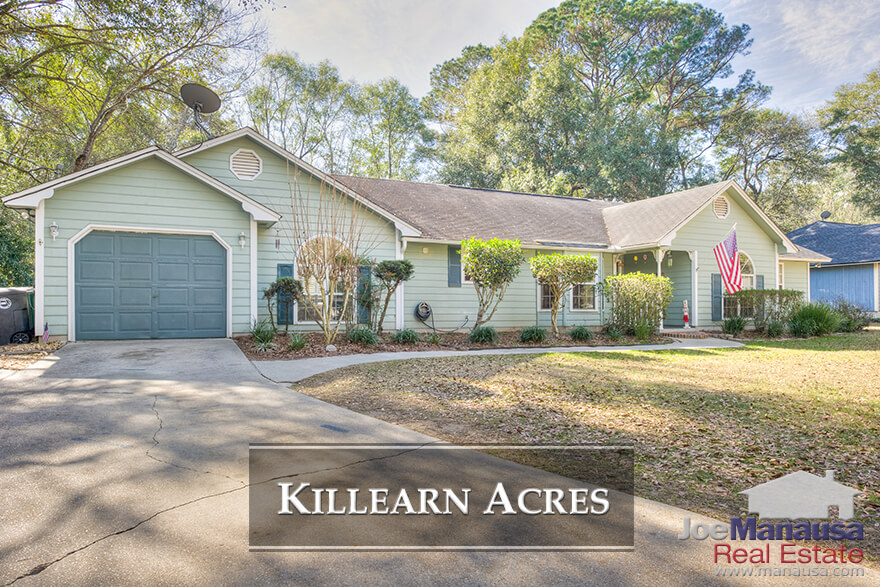 If you are looking for a winner in the housing market, then feast your eyes on Killearn Acres in NE Tallahassee.