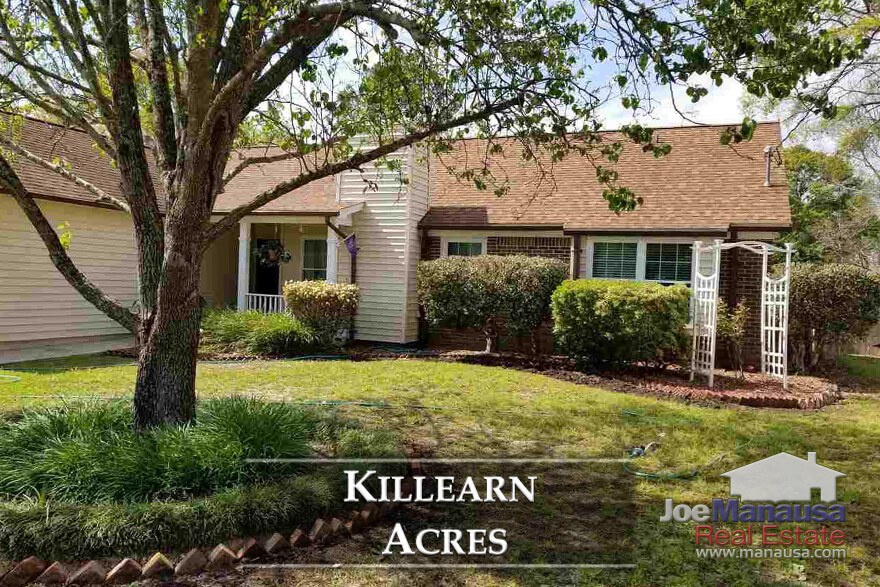 Killearn Acres in NE Tallahassee features three and four bedroom homes with nice-sized lots on streets named after winners of the Kentucky Derby