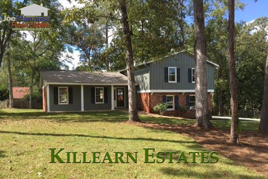 Killearn Estates is a high-demand neighborhood in NE Tallahassee. Located just north of the Interstate, this 3,800 home community offers a variety of options for the majority of today's home buyers. Here are the current listings: