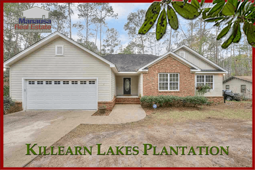 Killearn Lakes Plantation has the features that many homebuyers are seeking, including A-rated schools, natural walking trails, miles of lakes, flora, and fauna. Here are the houses for sale today:
