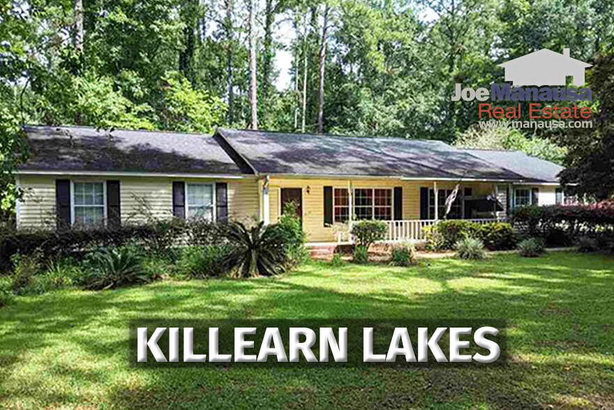 Home for sale in Killearn Lakes Plantation in Tallahassee, Florida