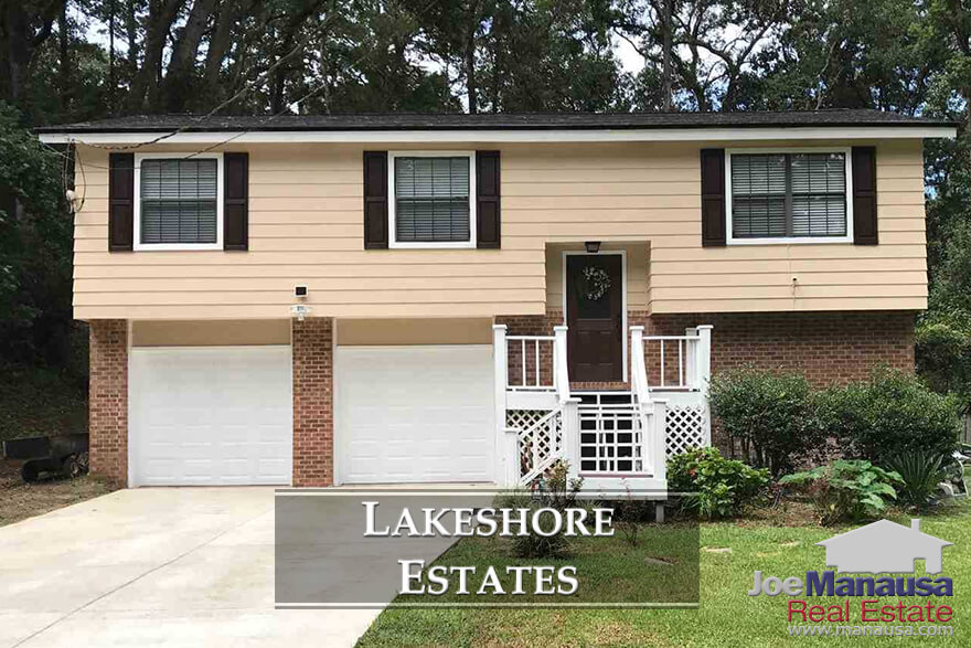Lakeshore Estates in Tallahassee is located just north of midtown and just west of the east-west property line in Tallahassee.