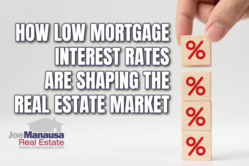 Historic low mortgage interest rates are redefining the housing market and we will see the impact of today's mortgages last long into the future