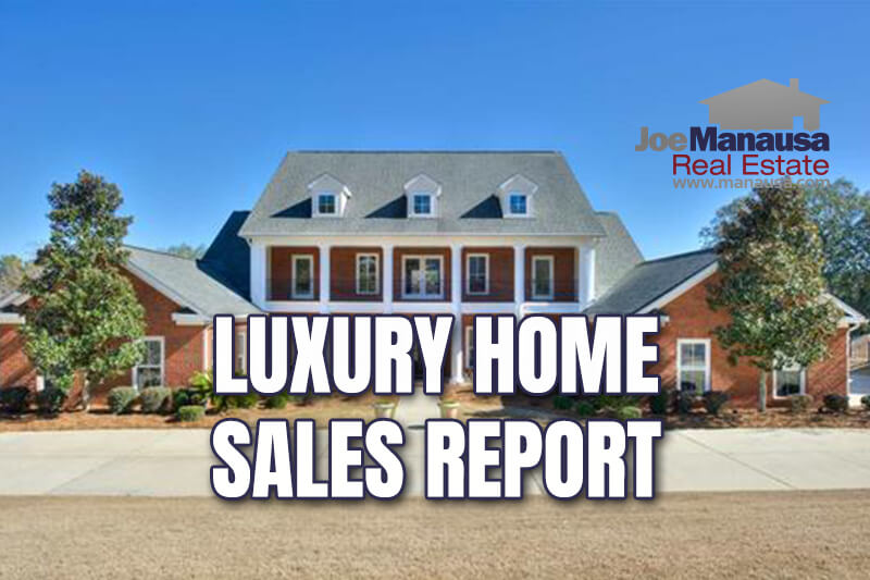 Full report on luxury home sales in Tallahassee through January 2021