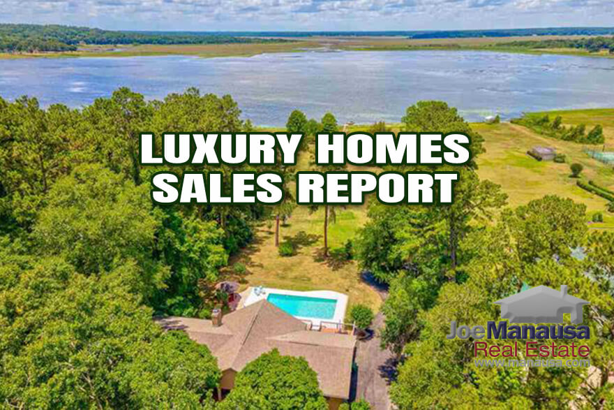 Full report on luxury home sales in Tallahassee through June 2021