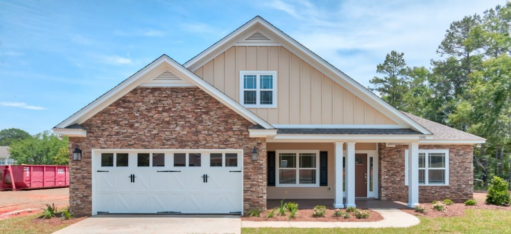 Built by Adams Quality Homes, these brand new houses start at $300,000 for 1,800 sq. ft. and up. Located at the intersection of of Pedrick and Buck Lake Road, residents will enjoy easy access to Costco, Wal-Mart, Bass Pro Shop and the Publix.