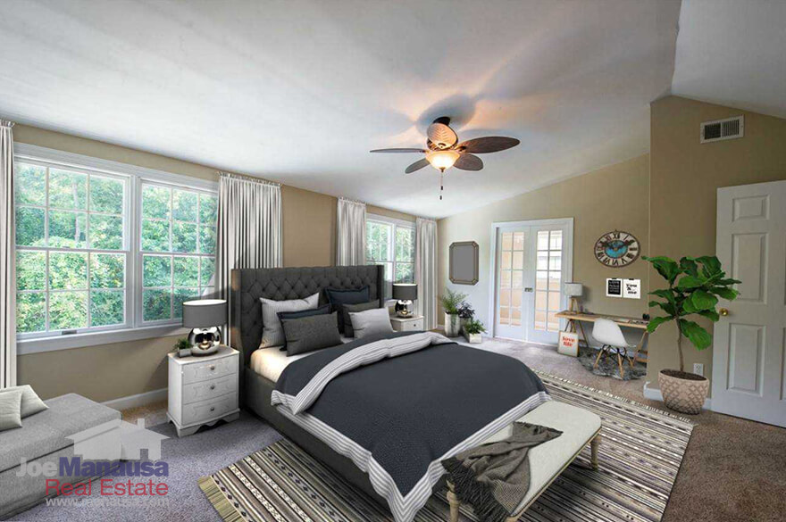 Large master bedroom in Midtown Tallahassee