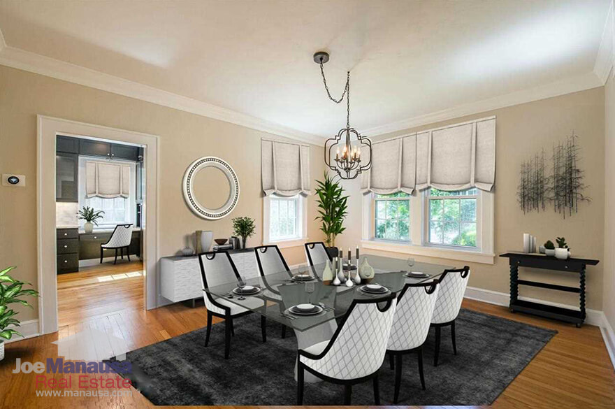 Large dining room in Midtown Tallahassee