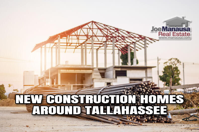 Where To Buy New Construction Homes Around Tallahassee October 2020