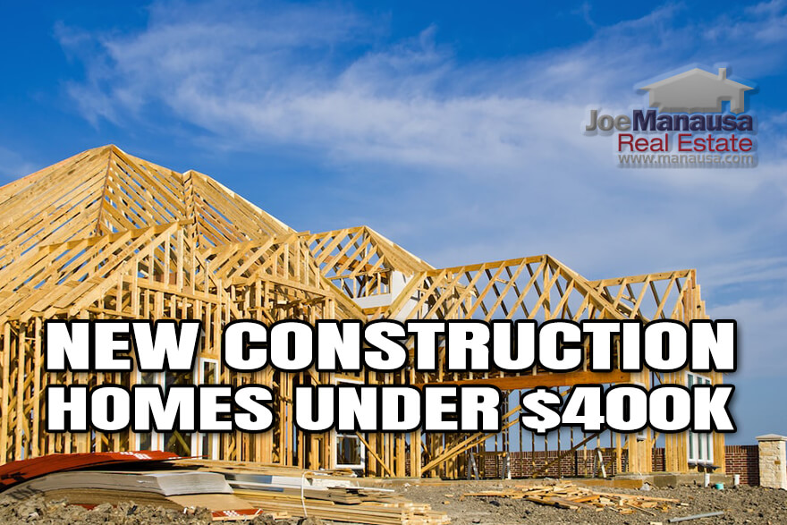 It won't be long before you won't be able to find a new construction home in Tallahassee for less than $400,000