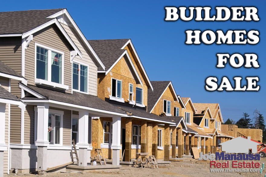 Here are more than a handful of builder homes for sale priced as low as $155k to ones approaching $1M