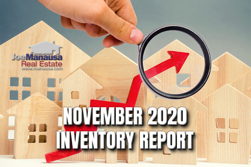 Inventory of homes for sale in Tallahassee November 2020