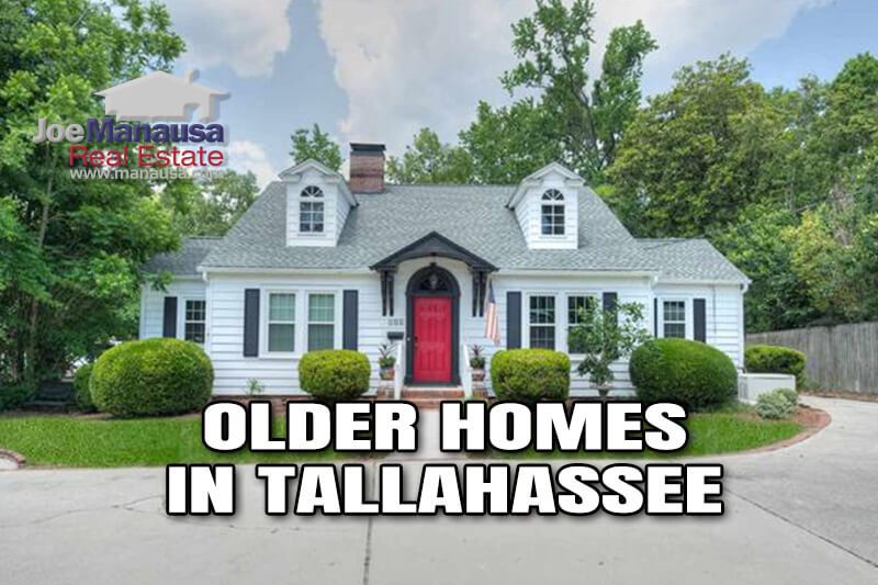 There's something special about the older homes in Tallahassee that buyers must understand