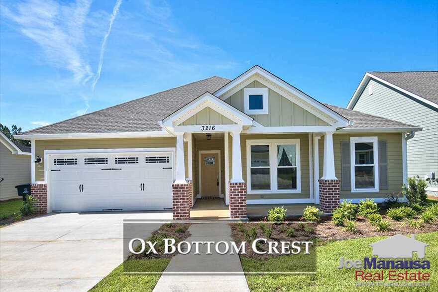 Ox Bottom Crest in Northeast Tallahassee is a new home construction neighborhood situated on the western edge of the Thomasville Road Corridor.