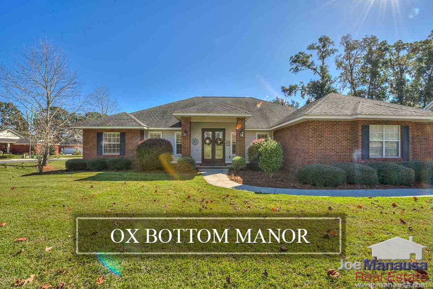 Ox Bottom Manor, a popular subdivision in the super-hot 32312 zip code, has more than 700 three, four, and five-bedroom homes built since the early 1990s.