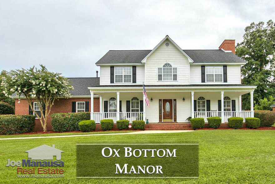 With more than 700 homes built in the past 30 years, Ox Bottom Manor in the 32312 zip code features executive level homes on half-acre plus sized lots and the school zones most often desired by buyers