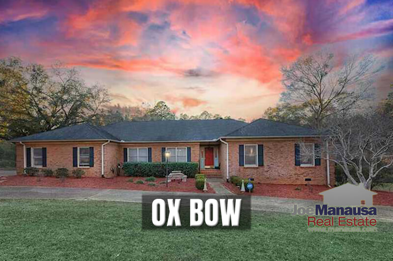 Ox Bow is a special little area in Northeast Tallahassee's 32312 zip code that features larger homes on parcels of land of more than an acre.