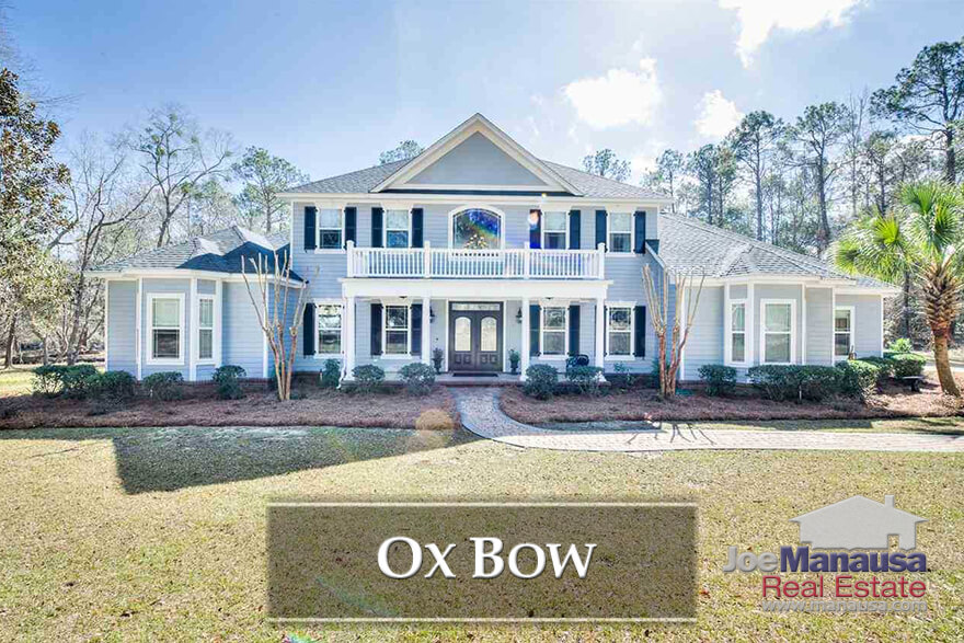 Situated along the highly prized Thomasville Road corridor, Ox Bow offers large homes on acre plus homesites. Of course, the real prize of living anywhere in the 32312 zip code is the trio of A-rated schools