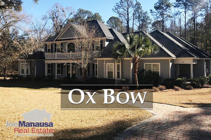 Homes for sale in Ox Bow in Tallahassee, FL 32312