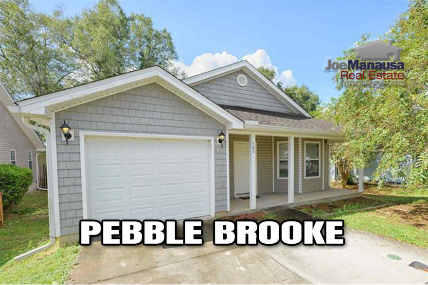 Pebble Brooke in Southeast SE Tallahassee is the epitome of
