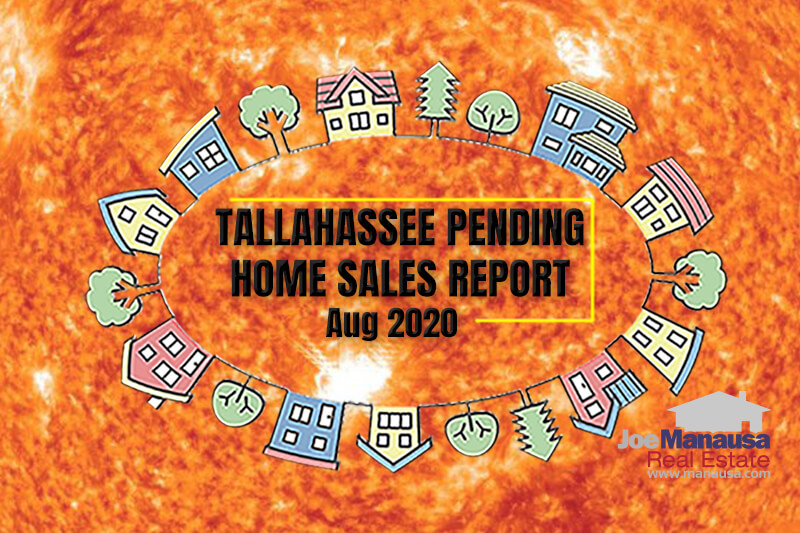 Pending Home Sales Report Tallahassee Florida August 2020