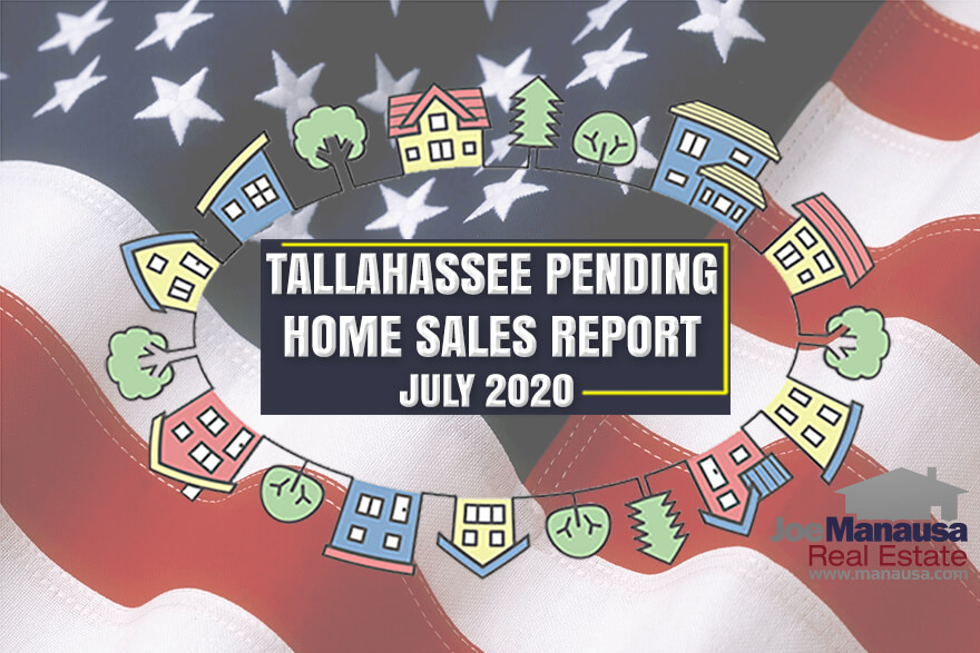Pending Home Sales Report Tallahassee Florida July 2020
