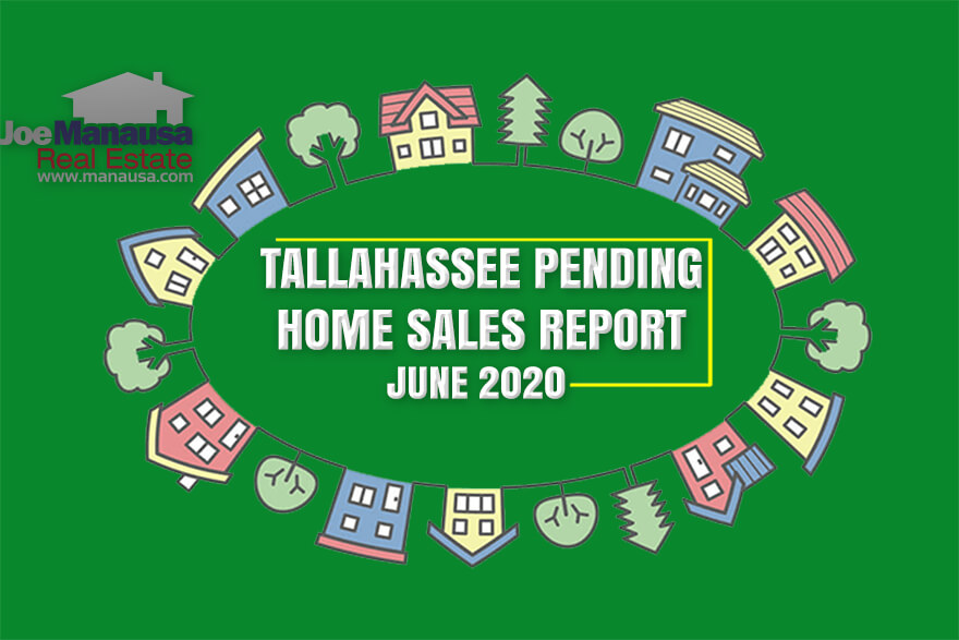 Pending Home Sales Report Tallahassee Florida June 2020