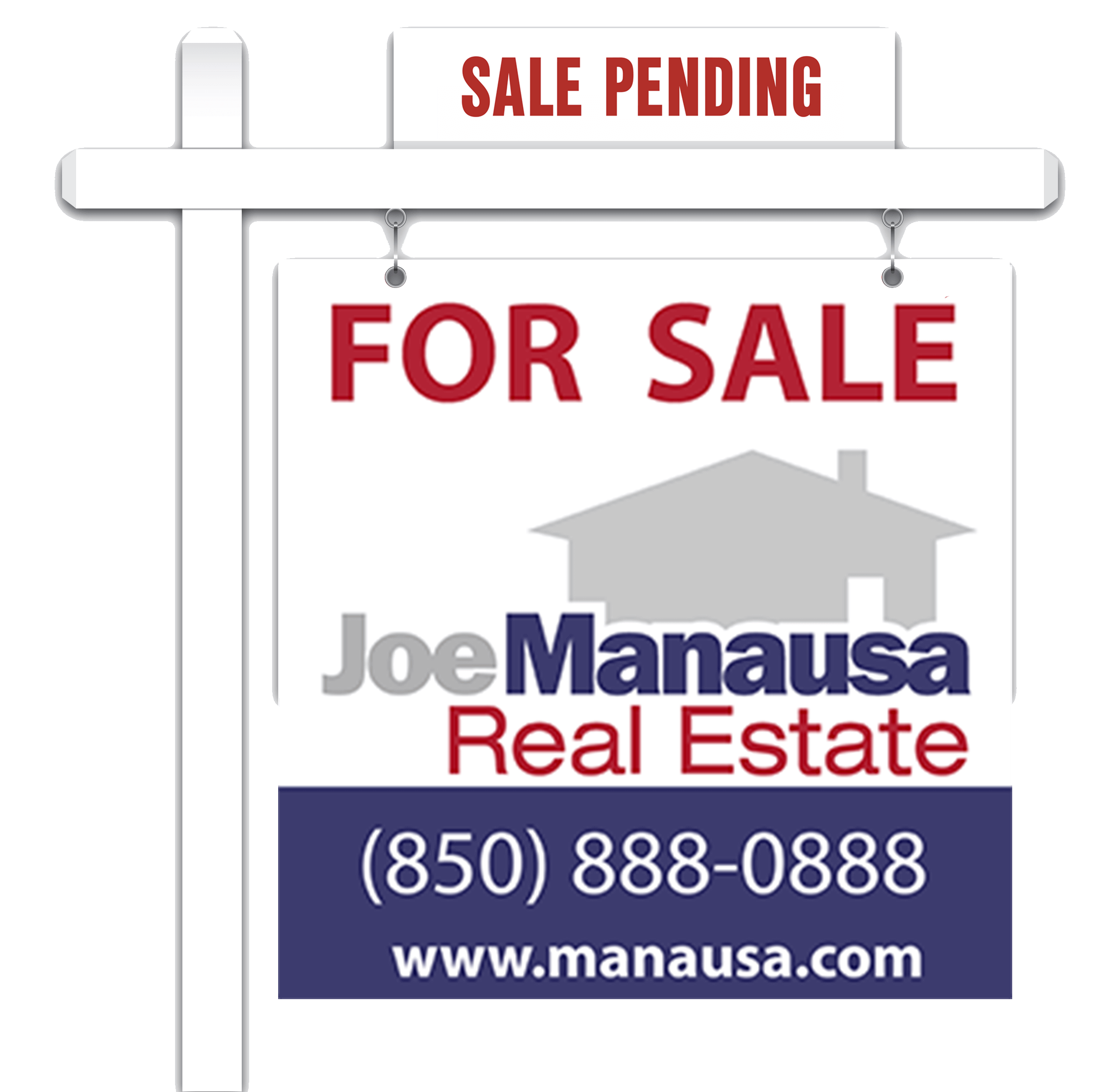 Joe Manausa Real Estate For Sale Sign In Tallahassee, FL