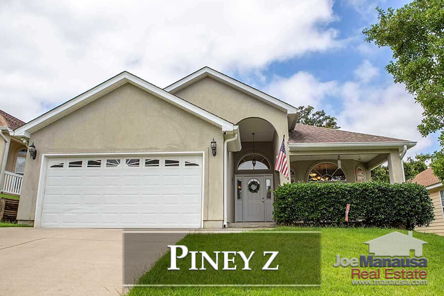 Piney Z in Northeast Tallahassee is a popular destination for homebuyers right now as it has much to offer at prices that many Tallahasseans can afford.