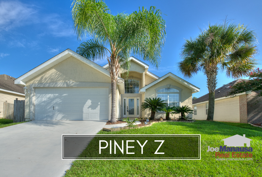 Piney Z is a wildly popular neighborhood in NE Tallahassee.