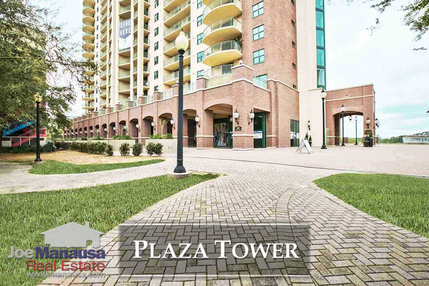 Plaza Tower in downtown Tallahassee, Florida features condos for sale near FSU