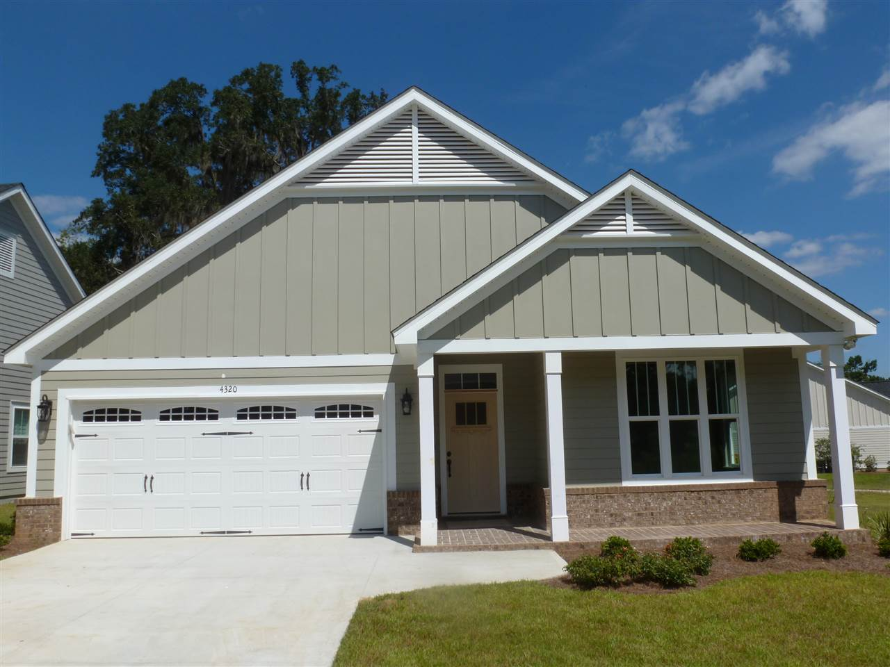 New construction homes for sale in the Preserve at Buck Lake in Tallahassee, FL