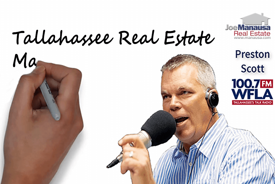 I'm really excited to be recording a podcast with Preston Scott today about the current state of the Tallahassee real estate market.