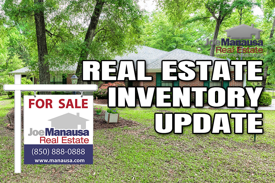 Inventory of homes for sale in Tallahassee April 2021