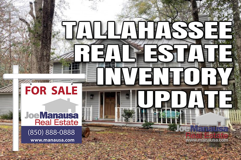 Inventory of homes for sale in Tallahassee March 2021