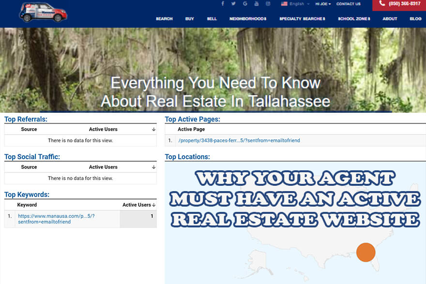 If your agent does not have the best real estate website, your home will miss valuable exposure