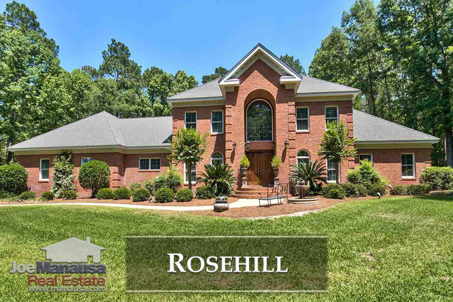 Rosehill is a luxury homes neighborhood located in NE Tallahassee