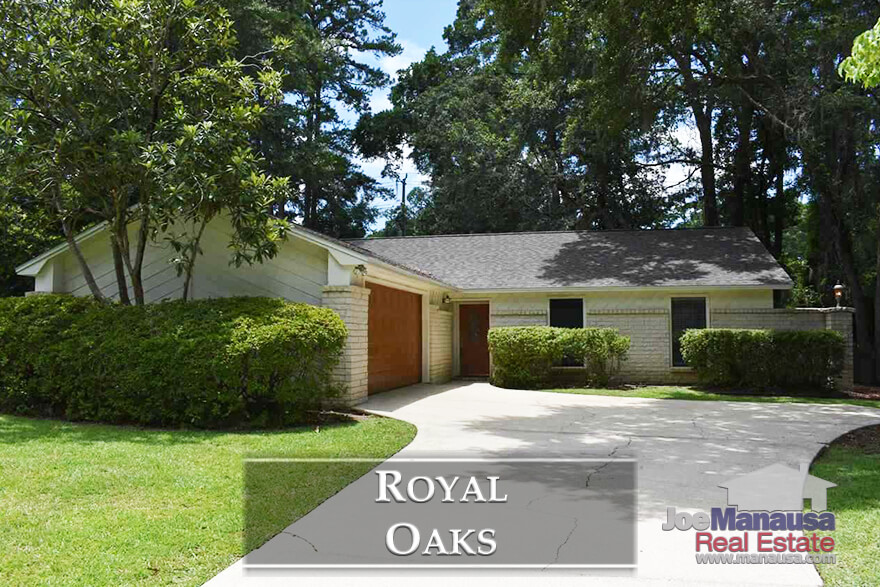 Royal Oaks is a hugely popular neighborhood in Northeast Tallahassee, located in the heart of the high-demand Thomasville Road Corridor