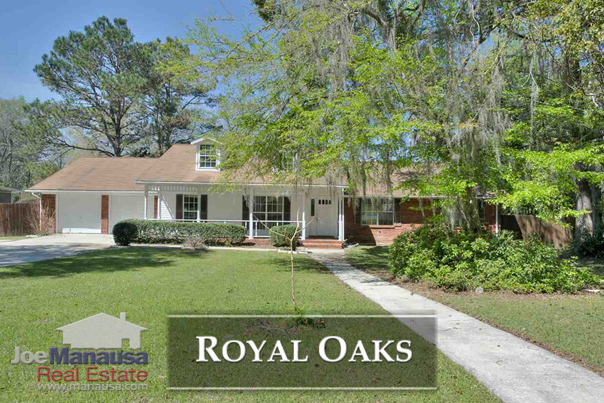 Royal Oaks Tallahassee - If you are looking for a neighborhood with A-rated schools, 3 or 4 bedroom homes, and nice sized lots, then be prepared to act fast if a new listing in Royal Oaks hits the market