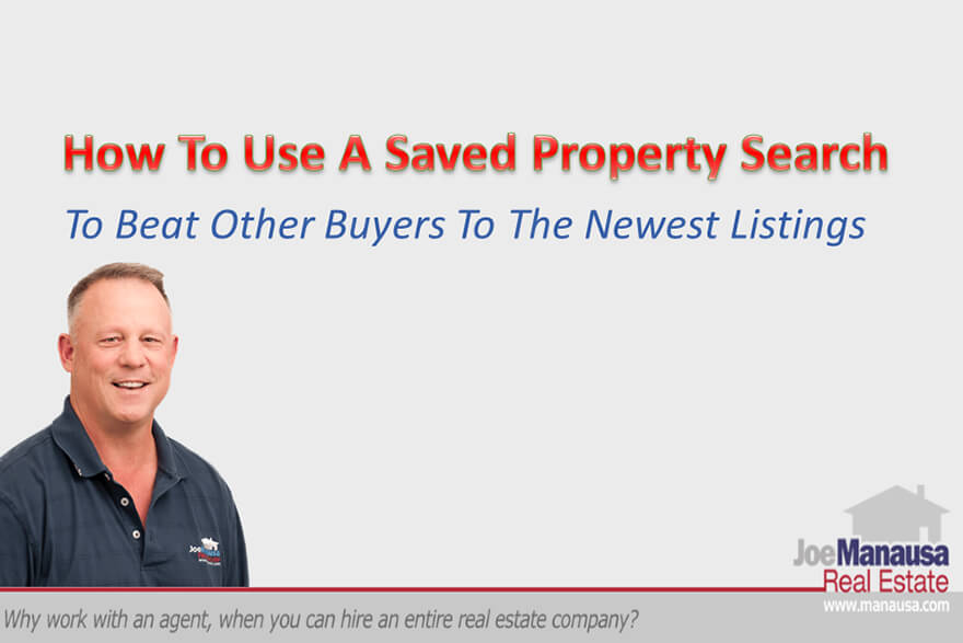 A saved property search makes you the first to know about homes entering the market, helping you secure a property before the rest of the market finds out