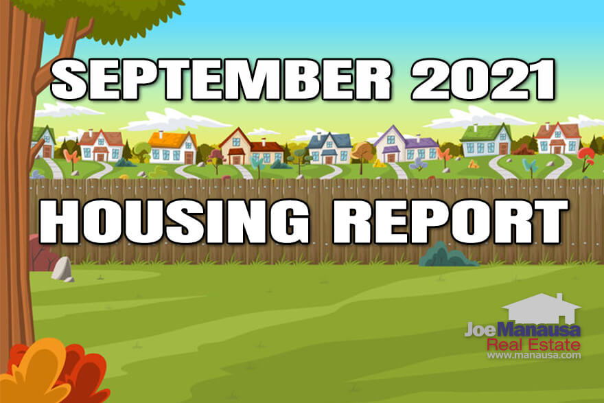 Time for my monthly real estate market update September 2021