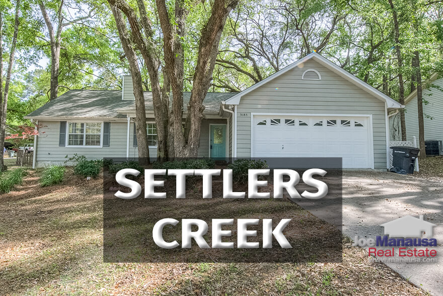 Settlers Creek is a popular NW Tallahassee neighborhood filled with some of the best buys in the Tallahassee real estate market