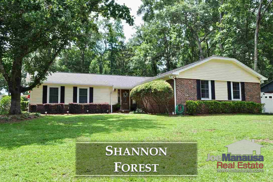 Shannon Forest is a fairly small but largely popular neighborhood in the Thomasville Road Corridor, so opportunities here are rare and require immediate attention.