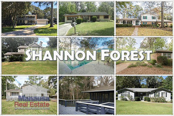 Shannon Forest is a highly desired neighborhood situated between Killearn Estates and Thomasville Road in Northeast Tallahassee