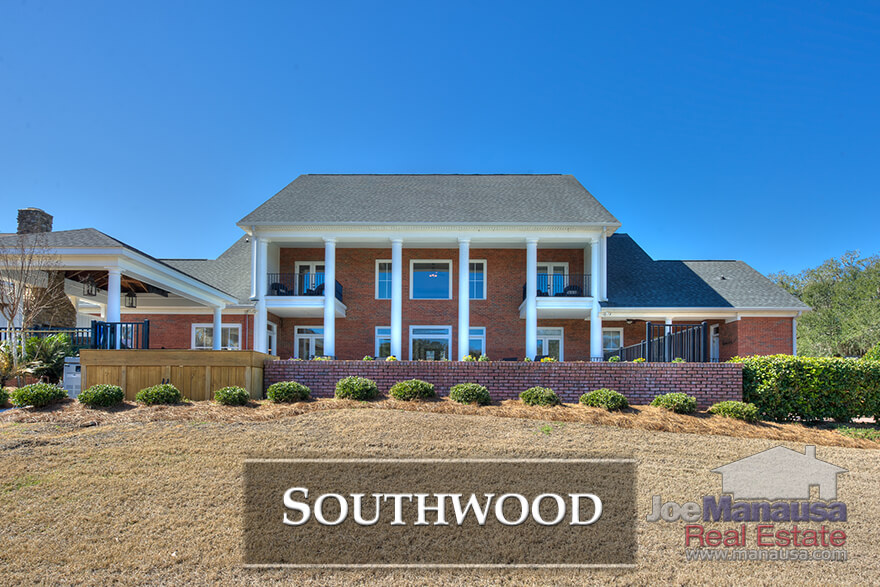 Southwood is the most active neighborhood in the SE Tallahassee real estate market.