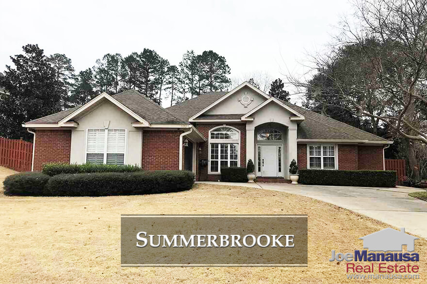 Summerbrooke is a Northeast Tallahassee golf course community that offers larger homes, well apportioned lots, and access to A-rated schools.