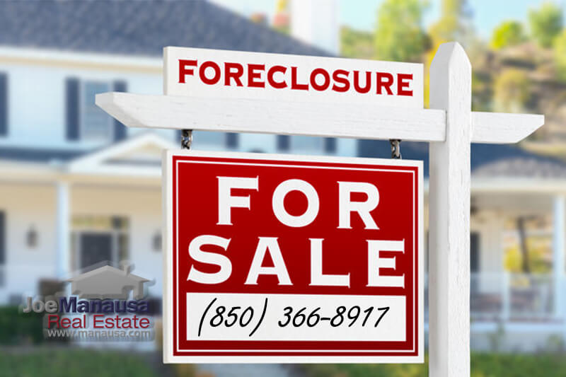 The list of foreclosures for sale in Tallahassee has been whittled down to just 7 homes