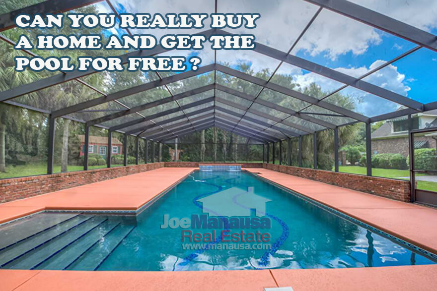 Special: Buy A Home And Get The Pool Free • Real Estate ...